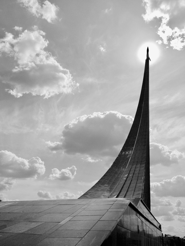 Moscow's Monument to the Conquerors of Space. Photograph by the author. Reproduced with permission.